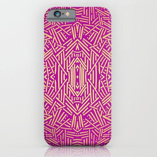 Radiate (Yellow/Ochre Raspberry) iPhone & iPod Case