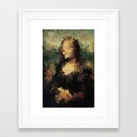 Panelscape Iconic - Mona Lisa Framed Art Print