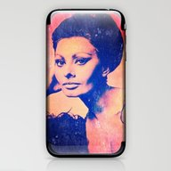 Sophia II iPhone & iPod Skin