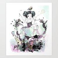 Migaja Art Print
