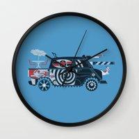 Vantastic Tank Girl Wall Clock