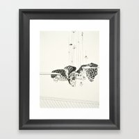 Pull Out Every Hair One … Framed Art Print