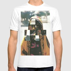 Masquerade Mens Fitted Tee White SMALL