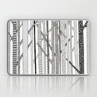 Pattern Trees Laptop & iPad Skin