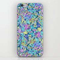 Infinite Scribbles iPhone & iPod Skin