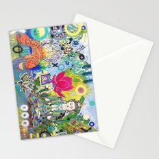 Green Tara in Paradise Stationery Cards