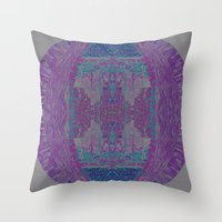 Jewel Tones II Throw Pillow