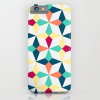 iPhone & iPod Case featuring FloralGeometric by AJJ ▲ Angela Jane Johnston