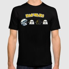 Pac Wars Mens Fitted Tee Black SMALL
