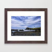 Yaquina Lighthouse Framed Art Print