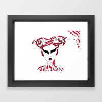 Aries / 12 Signs Of The … Framed Art Print