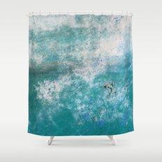 Into the Ocean - JUSTART © Shower Curtain