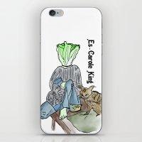 Es-carole King iPhone & iPod Skin