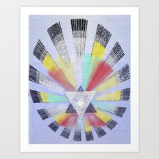 NewLight Realized  Art Print