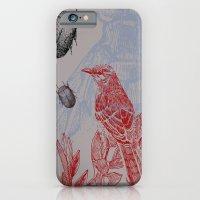 Beetles And Bird iPhone 6 Slim Case