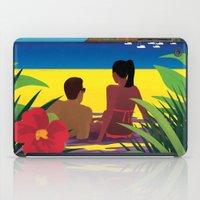 A Shaded Beach iPad Case