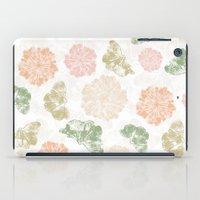 Ginkgo Floral iPad Case