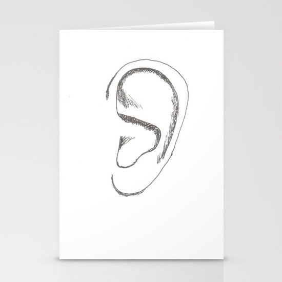 an earful Stationery Card