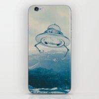 UFO III iPhone & iPod Skin