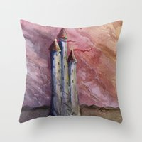On The Edge Of Forever Throw Pillow