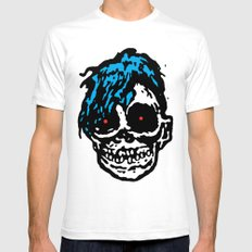 Devilock White SMALL Mens Fitted Tee