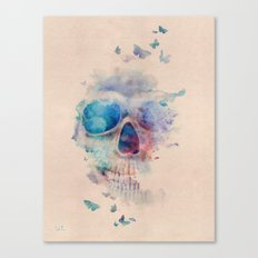 Skull Rainbow Canvas Print