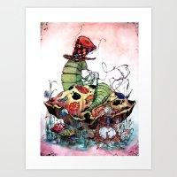 The Seer Art Print