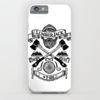 iPhone & iPod Case featuring LUMBERJACK by T-SIR