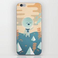 Space Traveler iPhone & iPod Skin