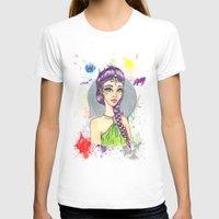princess T-shirts featuring Princess by Lagoonartastic