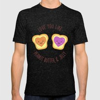 Sweet Lovers Mens Fitted Tee Tri-Black SMALL