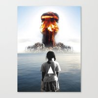Canvas Print featuring Nuke My Home by Ruben Marcus Luz Paschoarelli