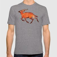 Bongo Antelope Mens Fitted Tee Tri-Grey SMALL