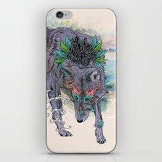 Journeying Spirit (wolf) iPhone & iPod Skin