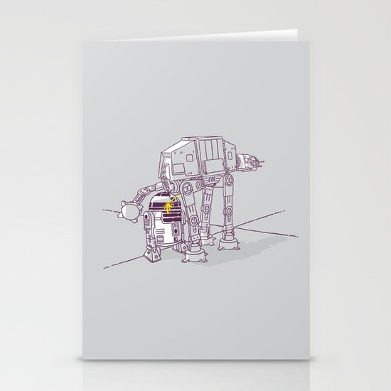 Not quite a fire hydrant Stationery Card