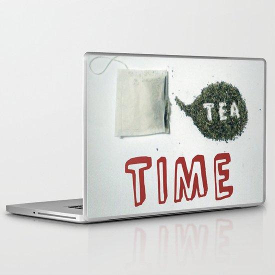 It's Tea Time Laptop & iPad Skin