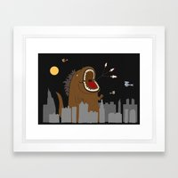 Orthodontic Treatment Framed Art Print