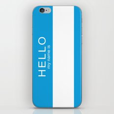 HELLO iPhone & iPod Skin