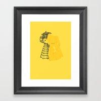 Queen Bees Framed Art Print