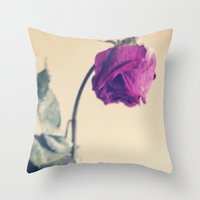 fall seven times, STAND UP EIGHT. Throw Pillow