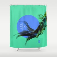 SAKANA Shower Curtain
