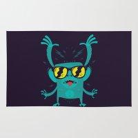 Cool monkey! Rug