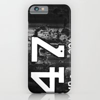 iPhone & iPod Case featuring 47 Horizontal by christopher justin gilner photographic
