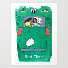 Bed Time #03 Art Print