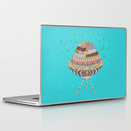 My Spaceship Will Come Laptop & iPad Skin