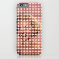 iPhone & iPod Case featuring marilyn by sr casetin