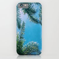 iPhone & iPod Case featuring PALM TREES by C O R N E L L