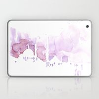 Watercolor landscape illustration_Istanbul Laptop & iPad Skin