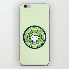 Cute John Watson - Green iPhone & iPod Skin