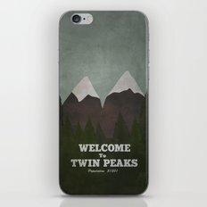 Welcome to Twin Peaks iPhone & iPod Skin